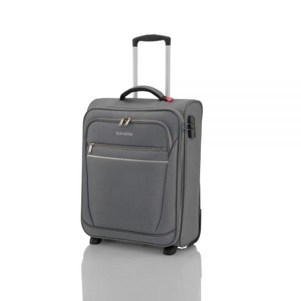 Travelite Cabin 2-Rollen Bordrolley 52 cm Schwarz 1