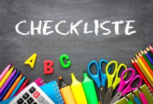 Checklisten zum Schulanfang - bloß nichts vergessen! | Schulranzen ...