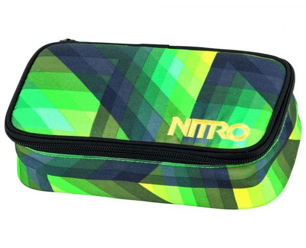 Nitro Pencil Case XL Schlamperetui Geo Green 1