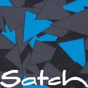 Satch Blue Triangle