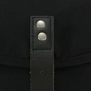 Ridgebake Black & Black Leather
