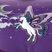 Step by Step Pegasus Purple